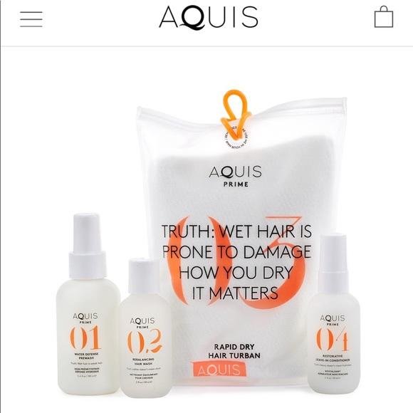 AQUIS Other - 💛NEW AQUIS HAIR KIT w/Turban!💛